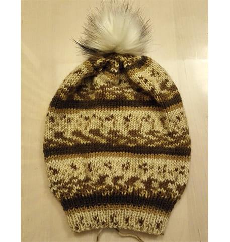 Как связать красивую шапочку спицами? Описание.