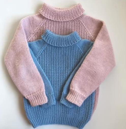 идеи вязаных свитеров