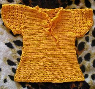 Вязаная юбка и кофта для девочки