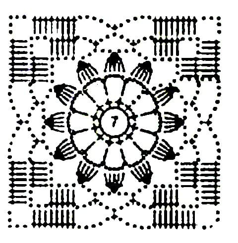Детский сарафан крючком и спицами схема