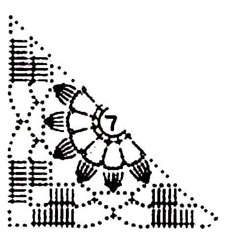 Детский сарафан крючком и спицами схема 2