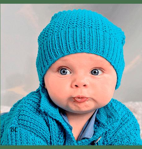 Как связать детскую шапочку спицами для начинающих ?